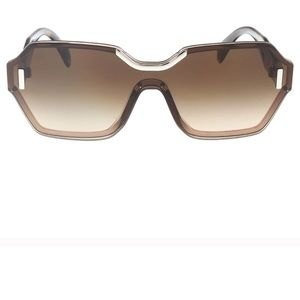 Authentic Prada sunglasses light brown
